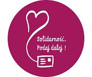 Logo Solidarność Podaj Dalej