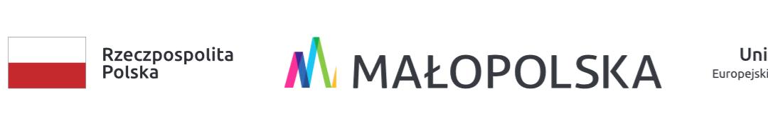 Logo projektów unijnych małopolska