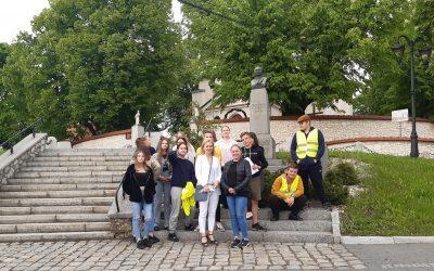 Spacer ulicami Czernichowa
