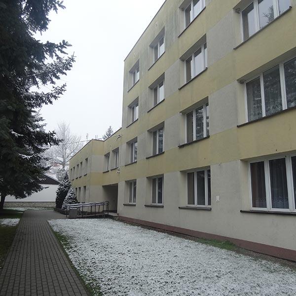 Budynek szkolnego internatu