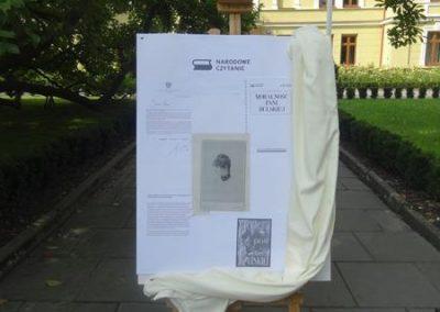 Plakat promujący projekt narodowego czytania